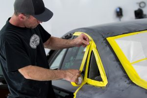 Prepping Car for Painting
